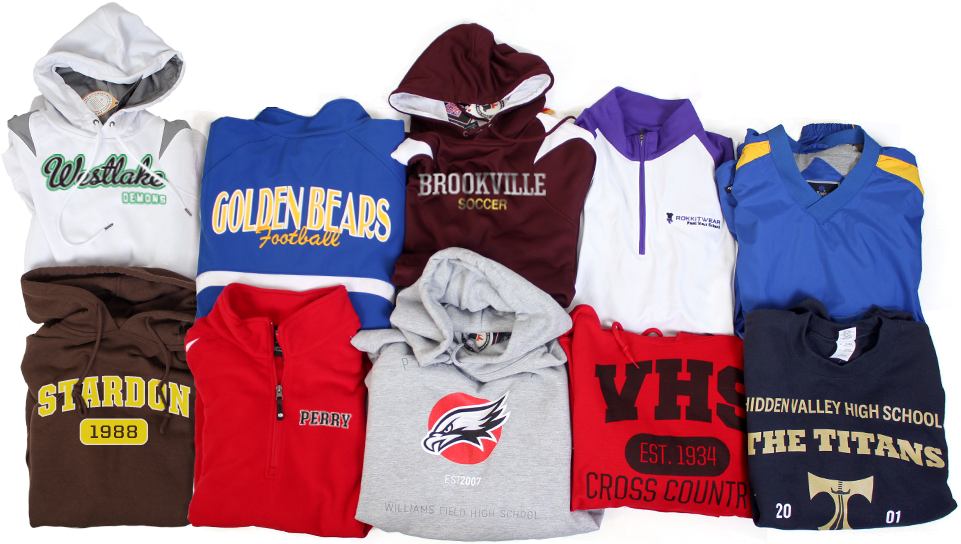 High School Sweatshirts | School Hoodies | Fleece and Zip-Ups